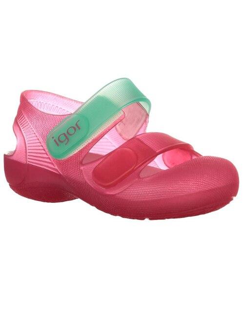 100% autenticado en venta excepcional gama de estilos Sandalia logotipo Lacoste para niña